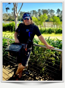 Chris McCallum location sound recordist Queensland